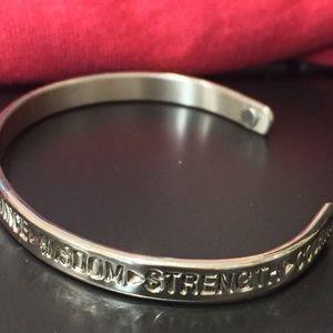 Sergio Lub Silver Cuff Bracelet